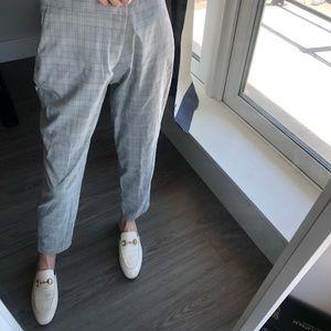 Zara Basic checked pants